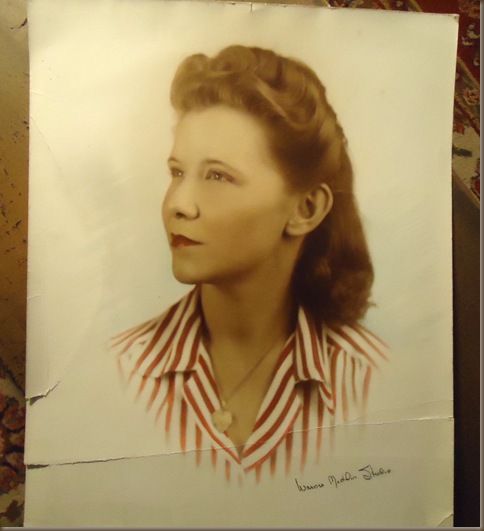 Mothers graduation picture