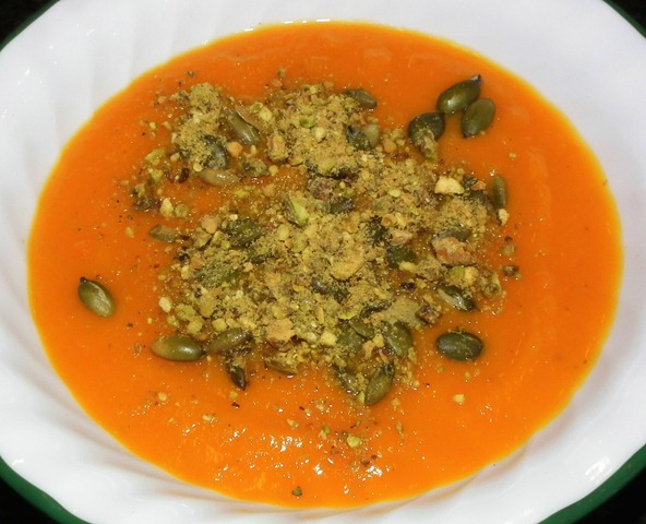 Butternut Squash Soup 10-26-11