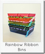 rainbow bins