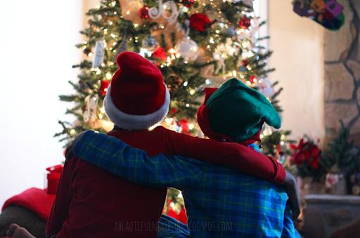 christmas 2014 boys back hug shoot 100