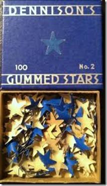gummed stars