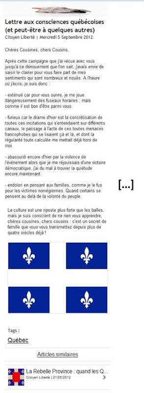 cousins du Québec
