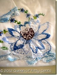 Embroidered Water Lily