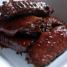 Red-Cooked Chicken Wings