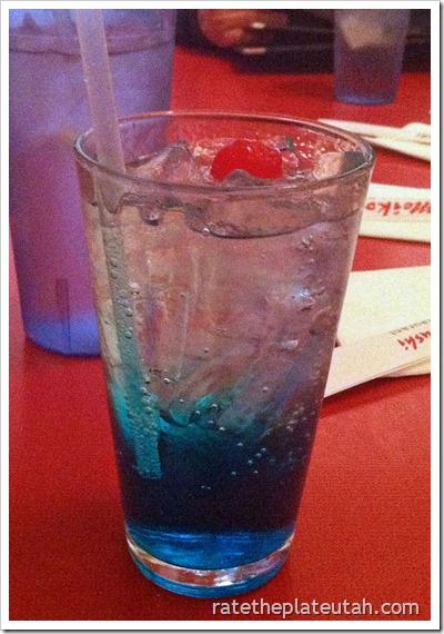 Meiko Sushi Blueberry Sprite