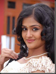Ramya Nambeesan in modern dress