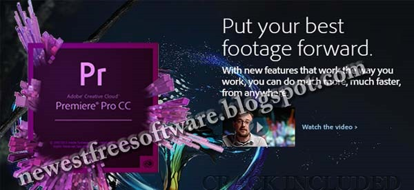 Adobe Premiere Pro CC Free Download Crack