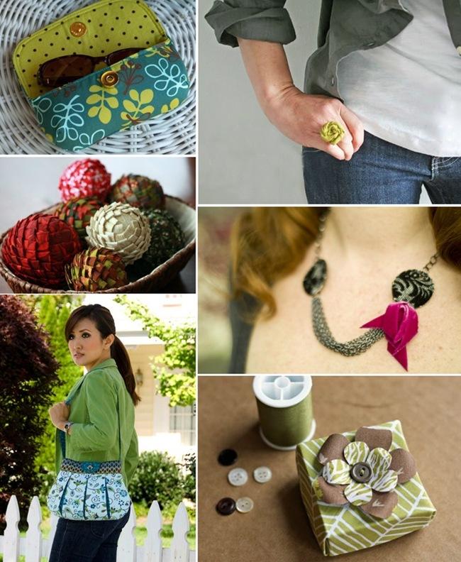 Artesanato com tecidos: Ideias criativas para inspirar.