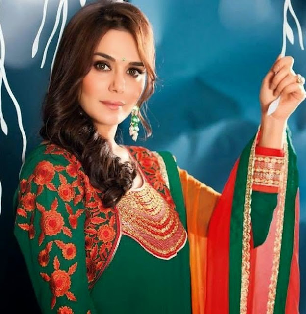 Preity Zinta in Latest Salwar Kameez Collection