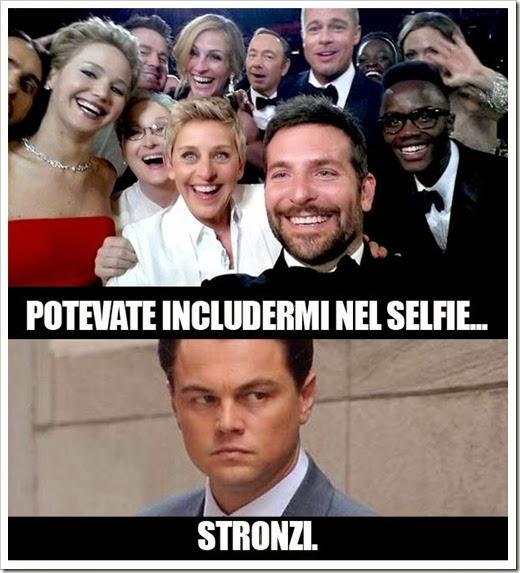 oscar selfie parodia