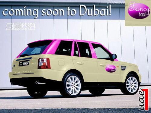 Taxi in Dubai: MW 745, Mercedes-Benz 600, Mercedes-Benz E240 Wagon, Porsche Cayenne, Porsche GTS, Toyota RAV4, Lamborghini