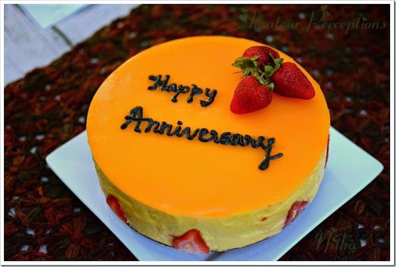 Mango Mousse Cake 1