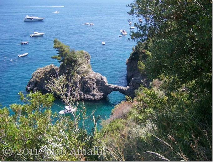 Ciao Amalfi Santa Croce Arco Naturale