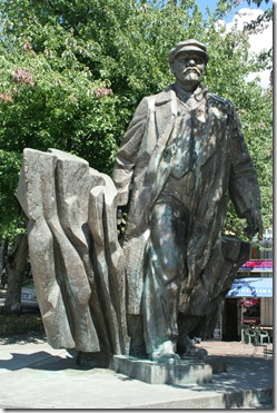 Seattle - Lenin statue in Fremont