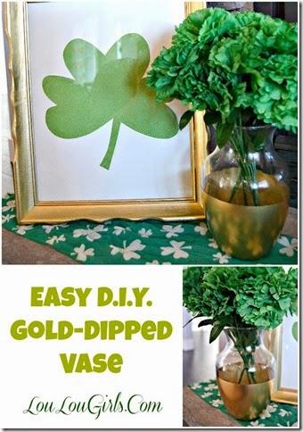 Easy-DIY-Gold-Dipped-Vase