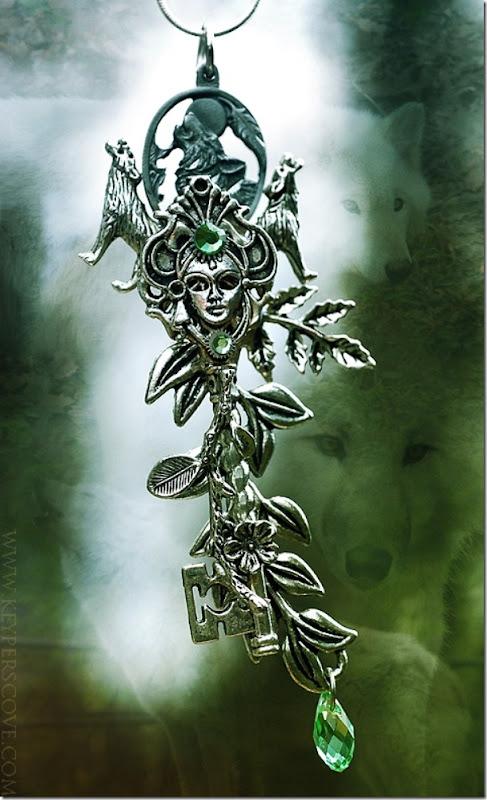 Princess MononoKEY Necklace