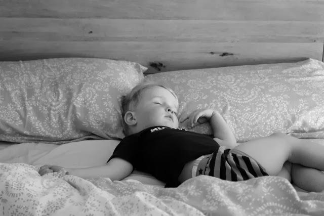 Master B asleep