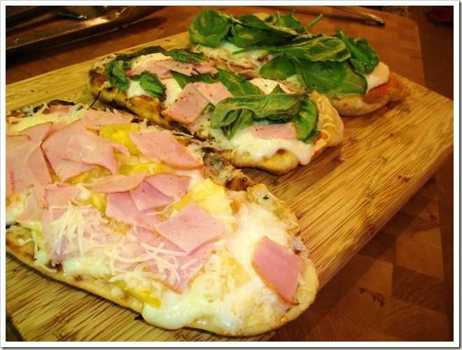 Grilled Pizza 156
