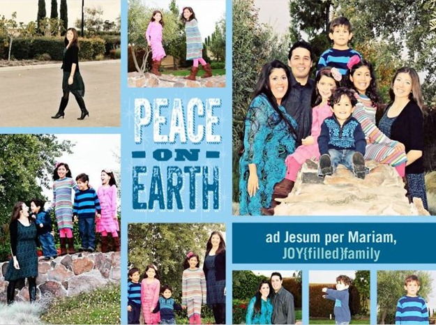 peace on earth JOYfilled family