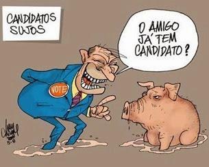 candidato e porca