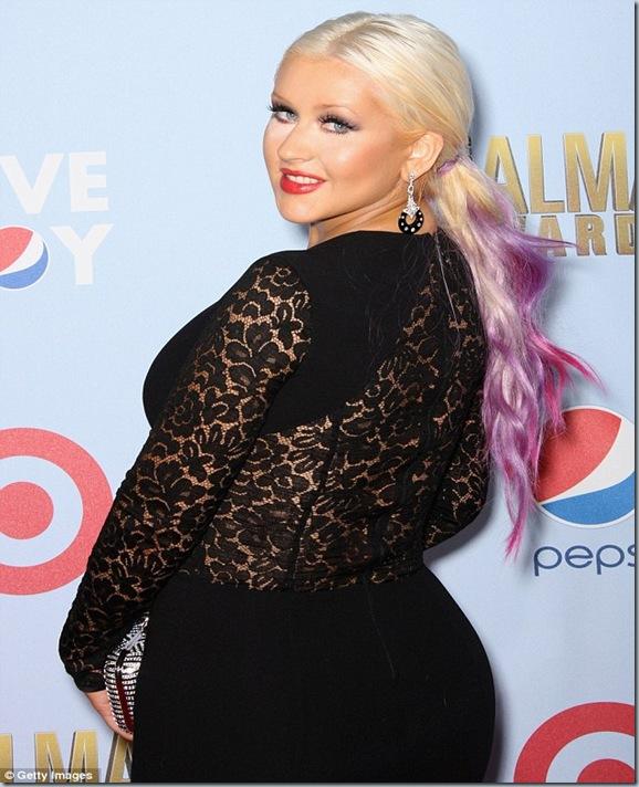 Christina Aguilera Gemok