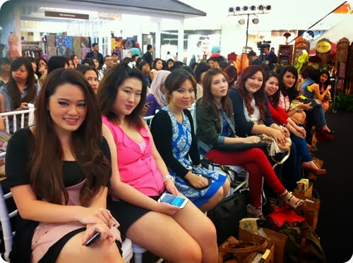Priscilla beauty blogger The Body Shop Color Crush makeup event talkshow