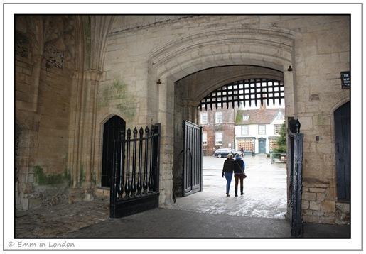 Inside Abbey Gate