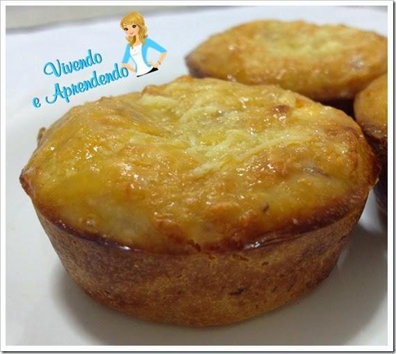 Muffin de parmesão com atum1