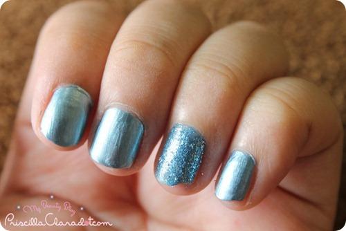 Faceshop Nail Polish Blue `1