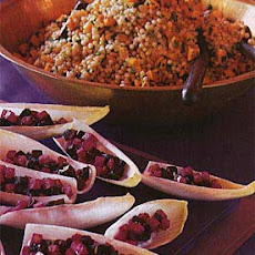 Israeli Couscous with Roasted Butternut Squash and Preserved Lemon