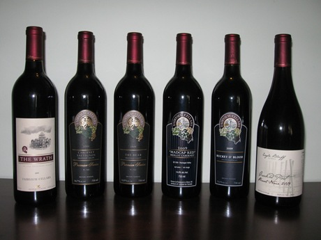 Fairview Cellars Fall 2011 Releases