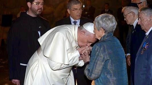 Francis holocaust survivor hand
