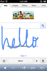 Google Handwrite 2