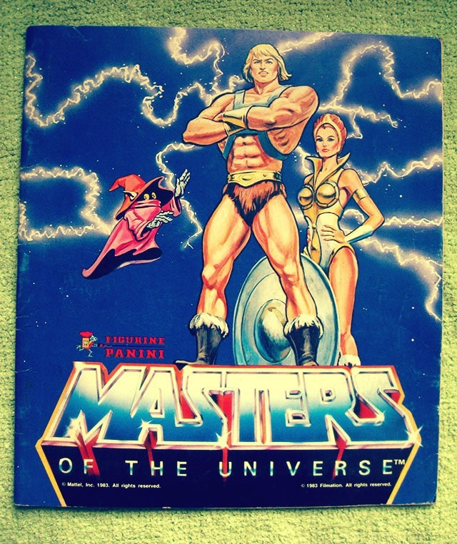 Masters Of The Universe Sticker Book Front