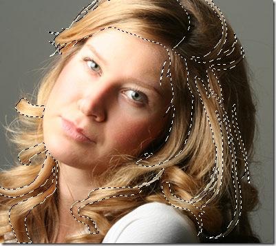 como mudar a cor dos cabelos no photoshop 5