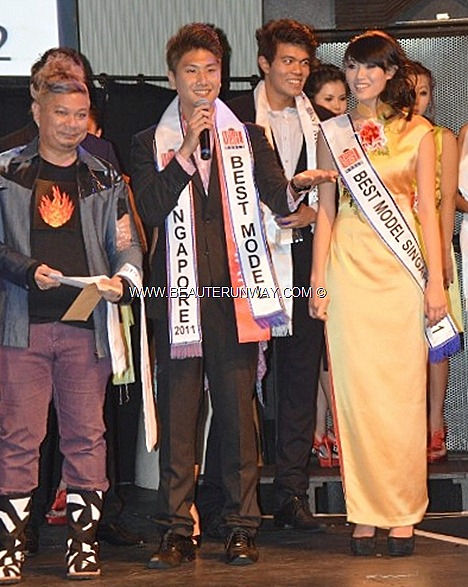 Sharin Keong Richmond Ang, Best Model of the World Singapore 2011 Winners Eddie Ho 2012 Winners Lewis Anthony Stokes Male Model Mel Zhu Female Model Dick Lee, Addie Low, Kevin Khoo, Annetha Ayyavoo and Cherylt Hansen judges Istanbul