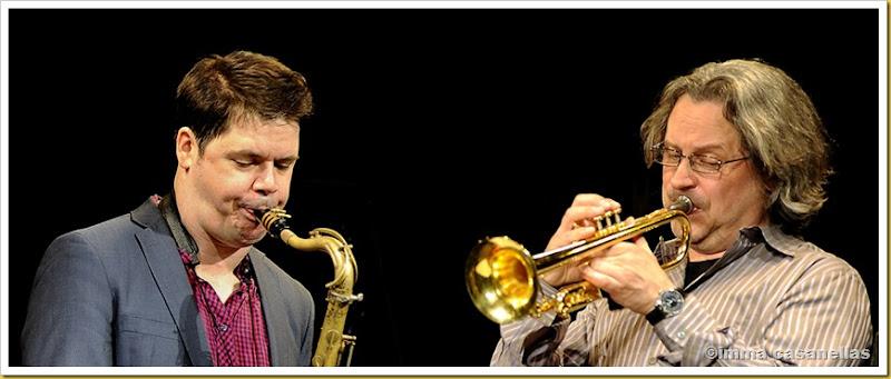 Seamus Blake & Alex Sipiagin, Terrassa 2013