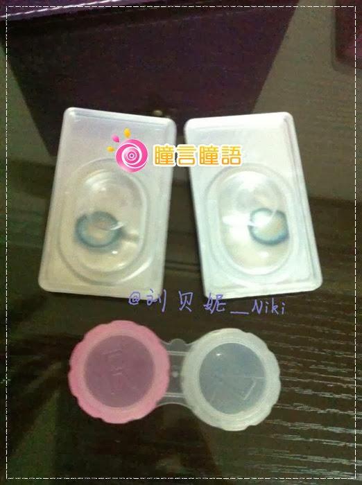 韓國GEO隱形眼鏡-GEO Sparkling 火花四色藍2
