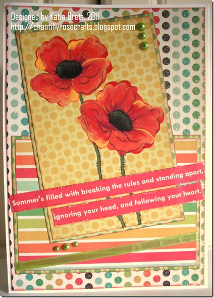 crafters companion june card