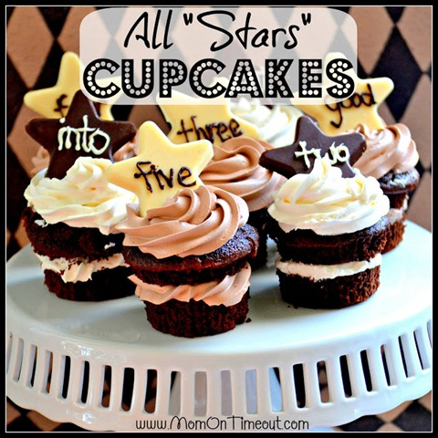 All Stars Cupcakes Square
