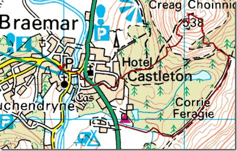 Braemar Map