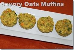 Savory Oats Muffins
