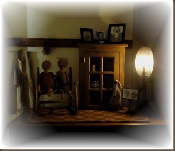Glass door cupboard 2