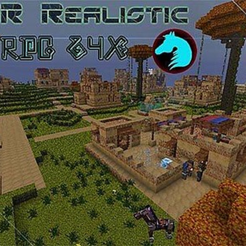 Minecraft 1.5.2/1.6 - DR Realistic Texture pack 64x