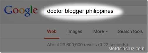 Filipino Doctor Blogger