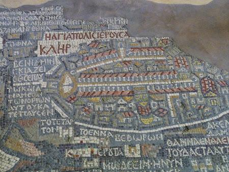 Obiective turistice Iordania: Mozaicul de la Nebo