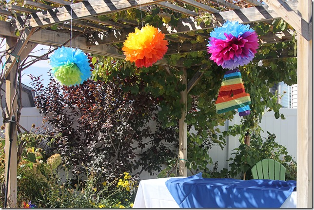 Rainbow Birthday Decor 2