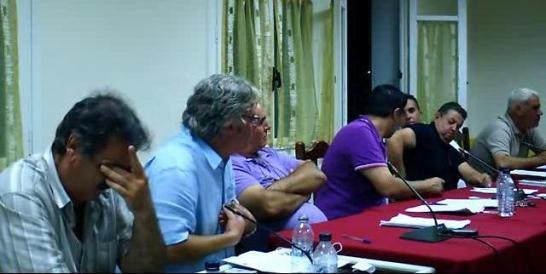 Τηλέμαχος Καραβίας: «Μια θλιβερή συνεδρίαση συμβουλίου»