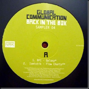 Global Communication – Back In The Box (Sampler 04)