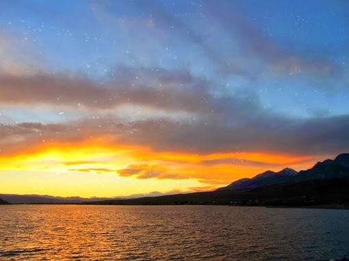 Mackay Reservoir Sunset.4